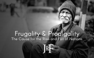 Frugality and Prodigality: The Cause for the Rise and Fall of Nations.